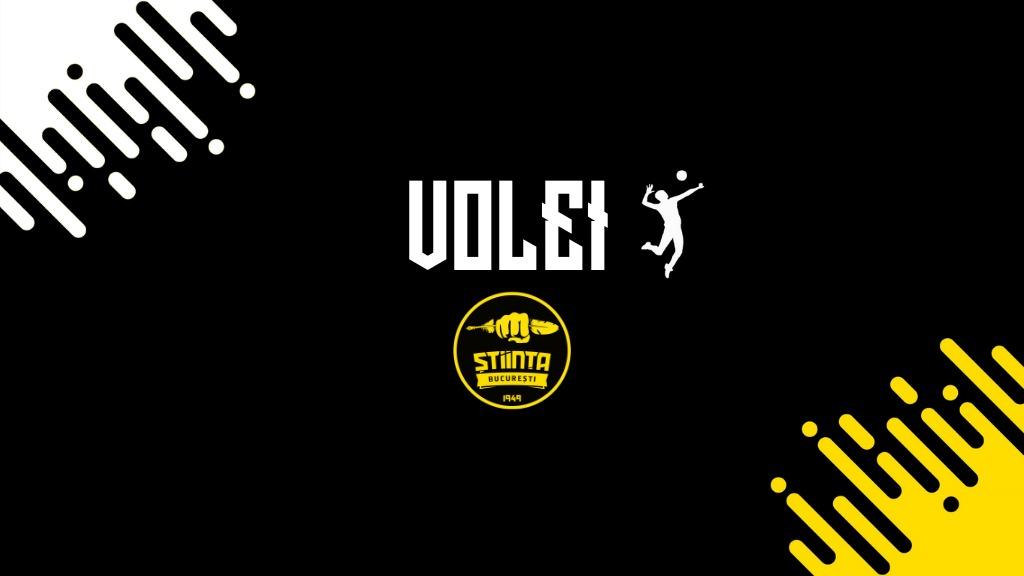 Final de sezon pentru voleibaliștii CSU Știința București